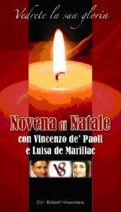 Copertina di 'Vedrete la sua gloria novena di natale con Vincenzo de' Paoli e Luisa de Marillac'