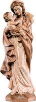 Statua della Madonna Germania da 20 cm in legno con mordente in 3 toni di marrone - Demetz Deur
