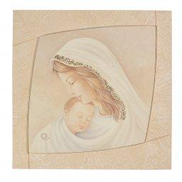 """Copertina di 'Quadro """"Madonna col Bambino"""" con cornice'"""