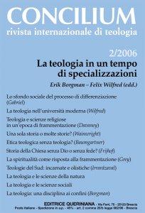 Copertina di 'La teologia in un tempo di specializzazioni'