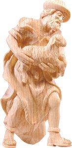 Copertina di 'Pastore con pecora R.K. - Demetz - Deur - Statua in legno dipinta a mano. Altezza pari a 15 cm.'