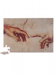 """Copertina di 'Puzzle """"La creazione di Adamo"""" (48 pezzi)'"""