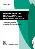 Formulario del processo penale - Marco Nigro