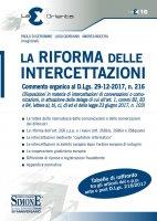La Riforma delle Intercettazioni - Paolo Di Geronimo, Luigi Giordano, Andrea Nocera