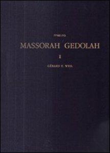 Copertina di 'Massorah Gedolah. Iuxta codicem Leningradensem B 19a'