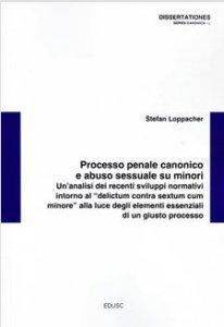 Copertina di 'Processo penale canonico e abuso sessuale su minori'