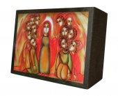 Immagine di 'Quadro pentecoste Padre Rupnik stampa - 5,5 x 7,5 cm (Brisbane)'