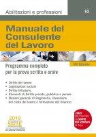 Manuale del Consulente del Lavoro - Redazioni Edizioni Simone