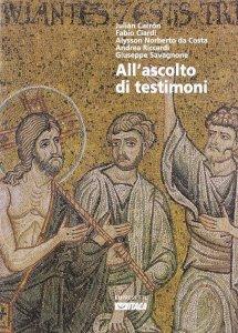 Copertina di 'All'ascolto di testimoni'