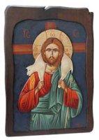 """Icona in legno """"Gesù buon pastore"""" - 47,5 x 34 cm"""