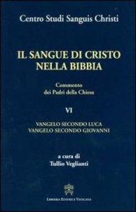 Copertina di 'Il sangue di Cristo nella Bibbia. Commento dei Padri della Chiesa'