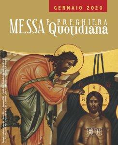 Copertina di 'Messa e preghiera quotidiana - Gennaio 2020'