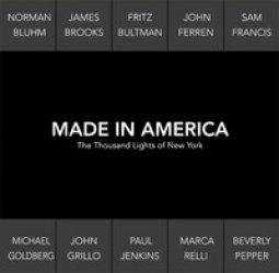 Copertina di 'Made in America. The thousand lights of New York. Catalogo della mostra (Prato, 18 novembre 2017-27 gennaio 2018). Ediz. italiana e inglese'