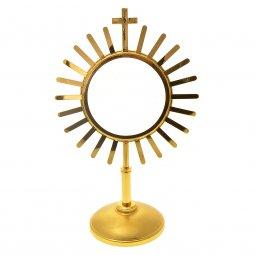 Copertina di 'Ostensorio dorato con raggi - altezza 38 cm'