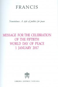Copertina di 'Message for the celebration of the fiftieth World day of peace'