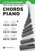 Little dictionary. Chords piano. Ediz. illustrata - Valentini Pierangelo