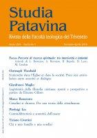Studia Patavina 2019/1