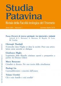 Copertina di 'Studia Patavina 2019/1'
