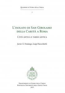 Copertina di 'L' isolato di San Girolamo della Carità a Roma'