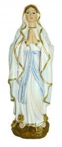 Copertina di 'Statua della Madonna di Lourdes da 12 cm in confezione regalo con segnalibro in IT/EN/ES/FR'