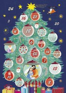 Copertina di 'Le luci dell'albero. Calendario dell'Avvento'