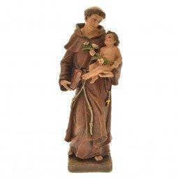"""Copertina di 'Statua in pasta di legno """"Sant'Antonio di Padova"""" - altezza 20 cm'"""