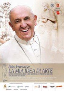 Copertina di 'Papa Francesco. La mia idea di arte'
