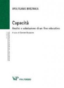 Copertina di 'Capacità. Analisi e valutazione di un fine educativo'