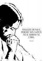 """Immagine di 'T-shirt Mt 25,13 """"Vegliate dunque"""" - Taglia L - DONNA'"""