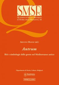 Copertina di 'Antrum. Riti e simbologie delle grotte nel Mediterraneo antico.'