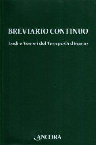 Copertina di 'Breviario continuo'