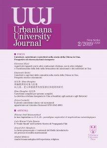 Copertina di 'Urbaniana University Journal 2019 2. Catechesi, catechismi e catechisti nella storia della Chiesa in Cina. Prospettive di ricerca da fonti riscoperte.'