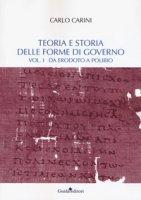 Teoria e storia delle forme di governo - Carini Carlo