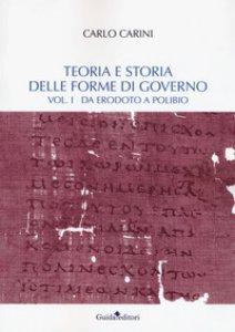 Copertina di 'Teoria e storia delle forme di governo'