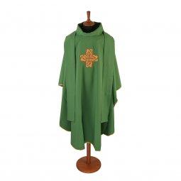 Copertina di 'Casula verde con croce stilizzata'