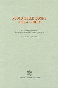 Copertina di 'Ruolo delle donne nella Chiesa'