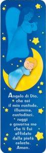 """Copertina di 'Segnalibro """"Angelo di Dio"""" - dimensioni 13x 4 cm'"""