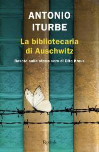 Copertina di 'La bibliotecaria di Auschwitz'