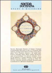 Copertina di 'Sacra Doctrina Studi e ricerche 2/2007'