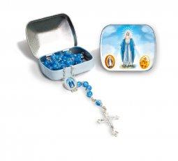Copertina di 'Scatolina portarosario della Vergine Maria con coroncina'