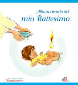 Copertina di 'Album ricordo del mio battesimo. Azzurro. Con CD'