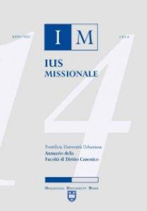 Copertina di 'Ius Missionale'