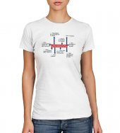 T-shirt 10 comandamenti - Taglia M - DONNA di  su LibreriadelSanto.it