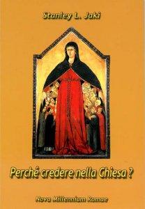 Copertina di 'Perchè credere nella Chiesa?'