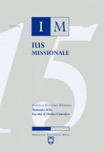 Copertina di 'Ius missionale. Annuario della Facoltà di diritto canonico (2015)'