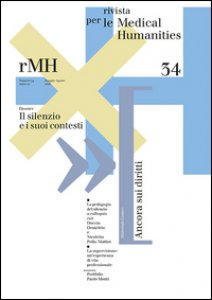 Copertina di 'Rivista per le medical humanities (2016)'