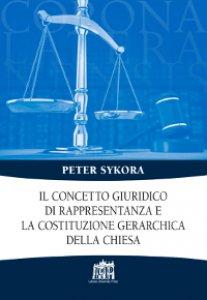Copertina di 'Il concetto giuridico di rappresentanza e la costituzione gerarchica della Chiesa'