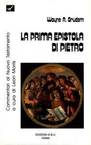Copertina di 'La prima epistola di Pietro'