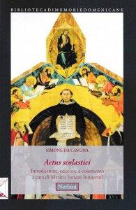Copertina di 'Actus scolastici'