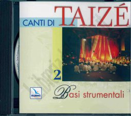 Copertina di 'Canti di Taizé. Vol. 2: Basi strumentali. Cd audio.'